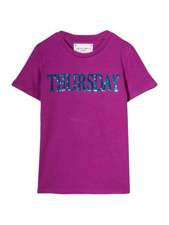 Alberta Ferretti Purple T-shirt