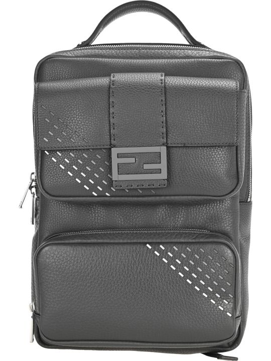 Fendi Leather Backpack