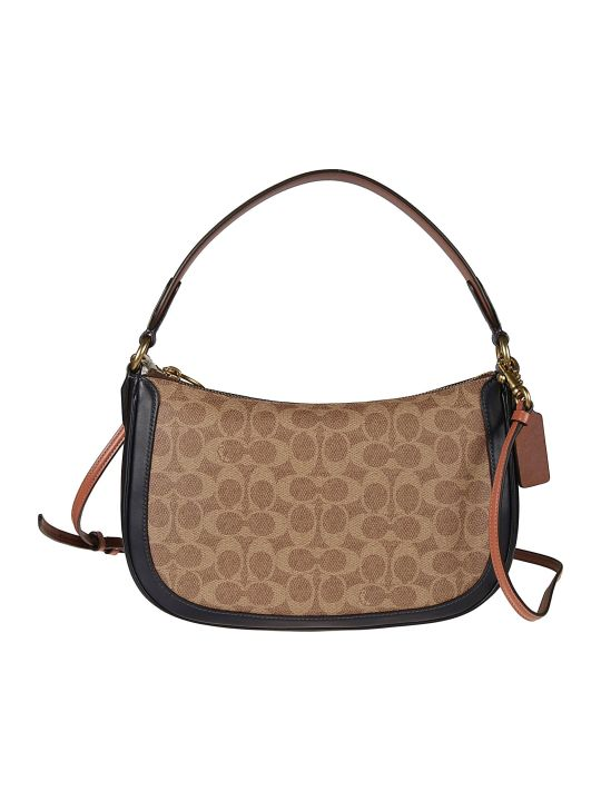 Coach Fringed Detail Shoulder Bag