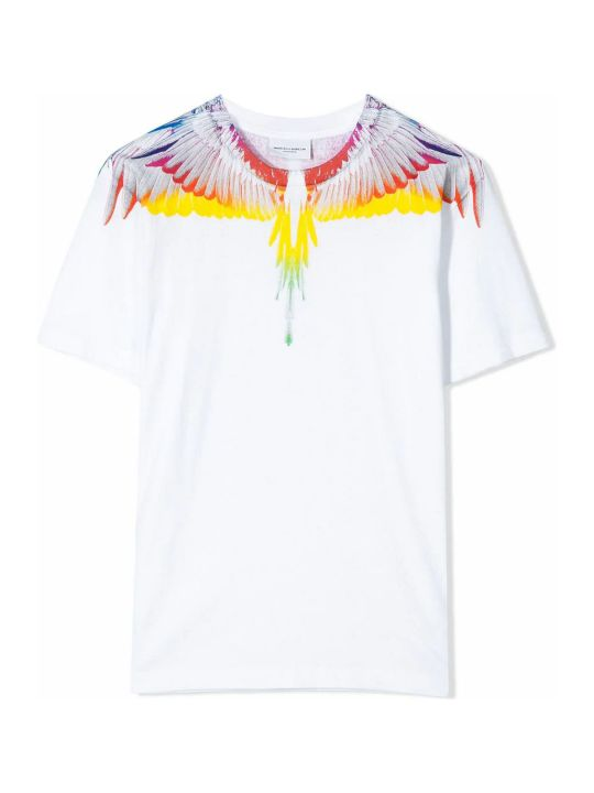 Marcelo Burlon White Cotton T-shirt