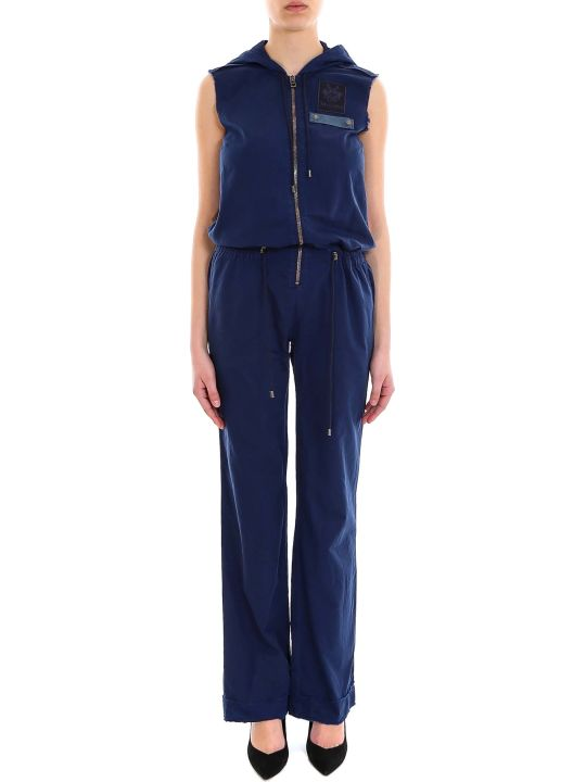 Mr & Mrs Italy Woman Jumpsuit Light Denim