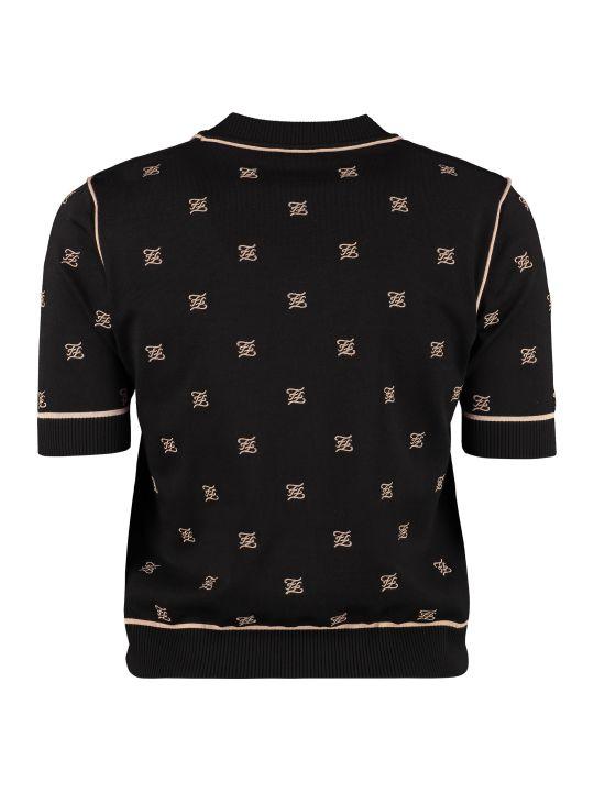 Fendi Short Sleeve Pullover