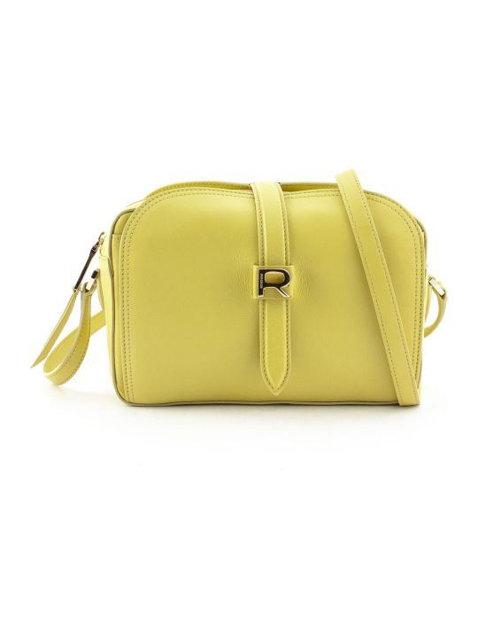Rochas Yellow Leather Mini Bag