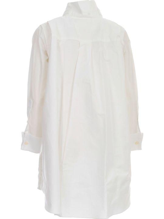 Sacai Cotton Poplin Shirt Dress