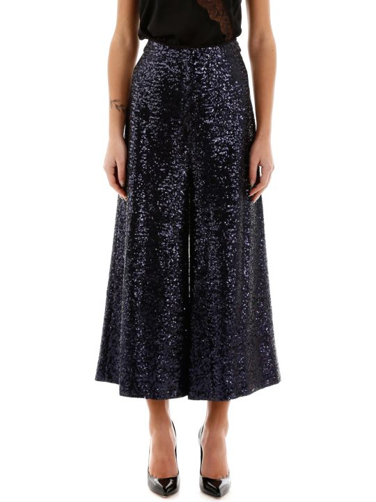 In The Mood For Love Sequined Culotte Trousers