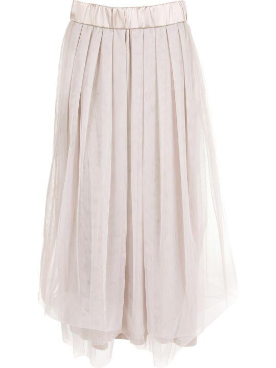 Peserico Pleated Skirt