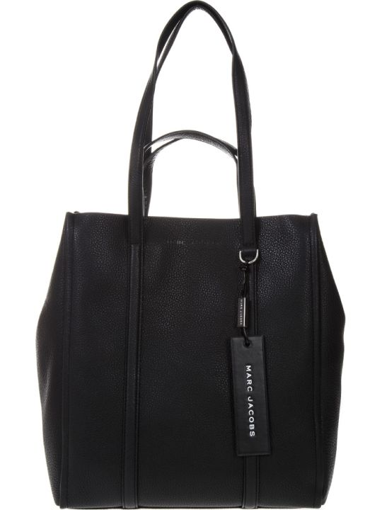 Marc Jacobs The Tag Black Leather Bag