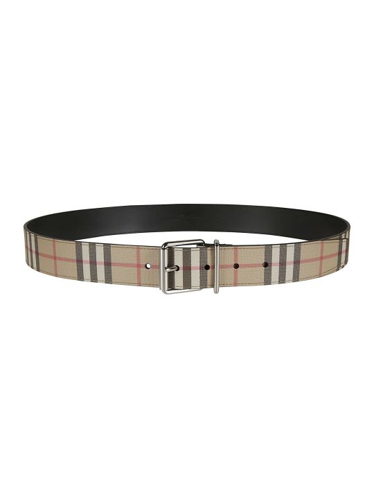 Burberry Mack 35mm Vintage Check E-canvas Belt