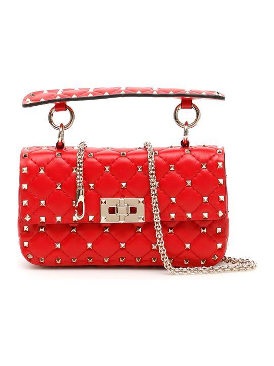 Valentino Garavani Small Leather Rockstud Spike Bag