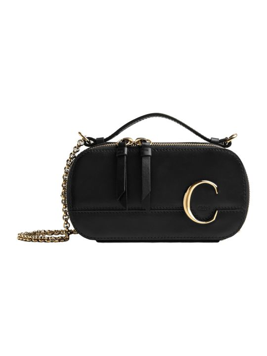 Chloé C Shoulder Bag With Chain