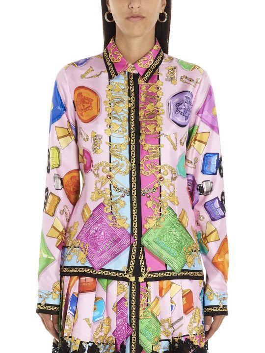 Versace 'foulard Parfum' Shirt