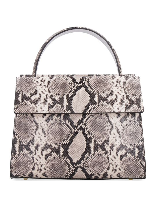 Nico Giani Eris Python Print Leather Handbag
