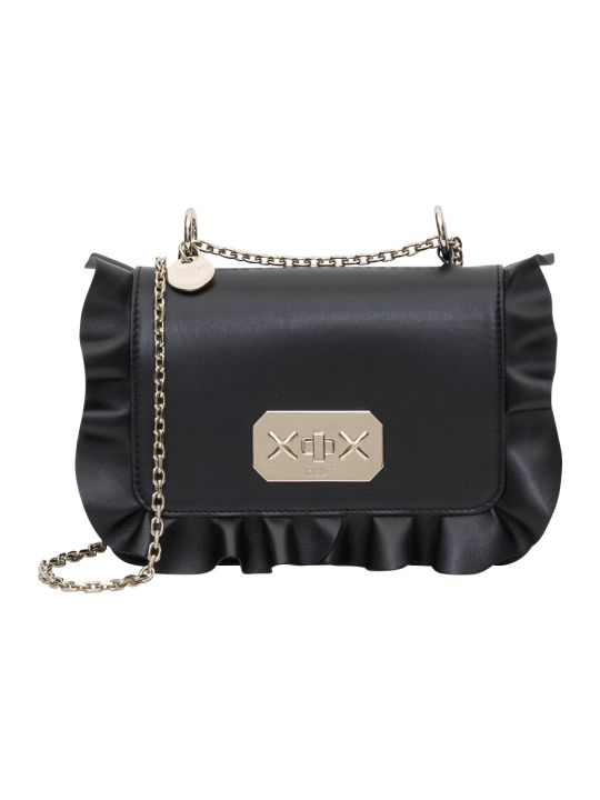RED Valentino Rock Ruffles Chain Bag