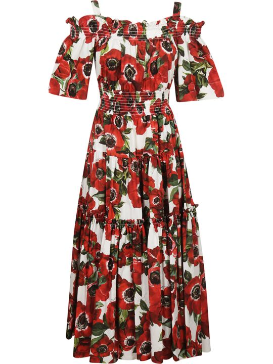 Dolce & Gabbana Anemone Print Dress