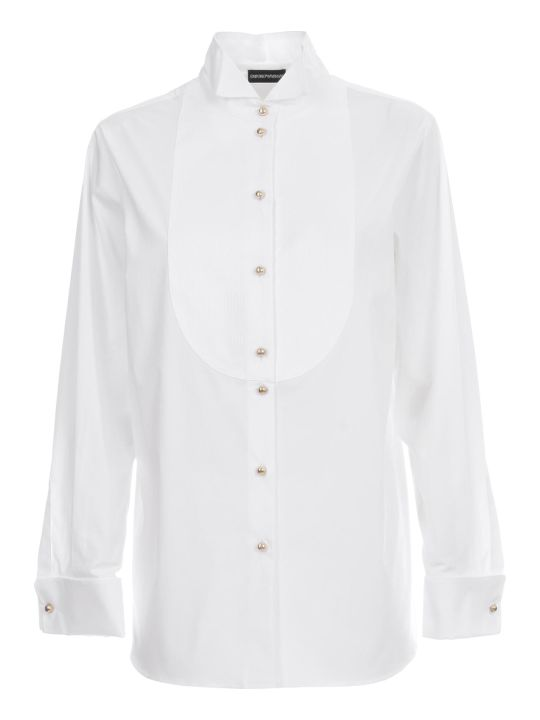 Emporio Armani Oversized Cotton Shirt