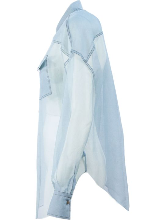 Brunello Cucinelli Shirt In Crispy Silk