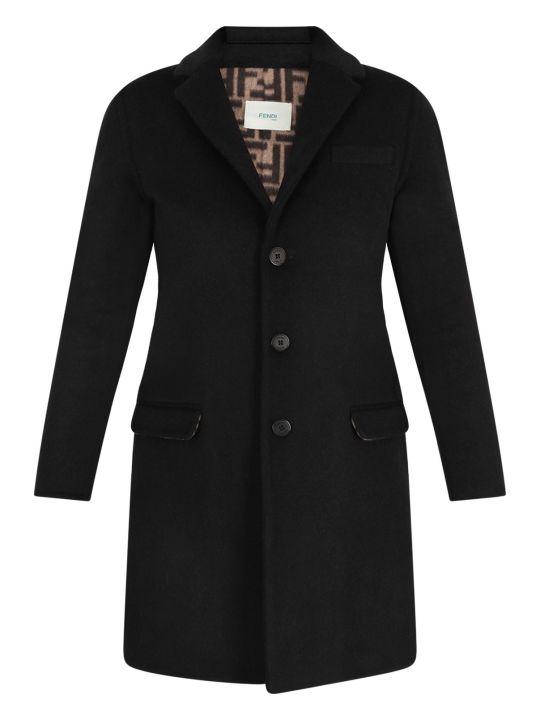 Fendi Black Girl Coat