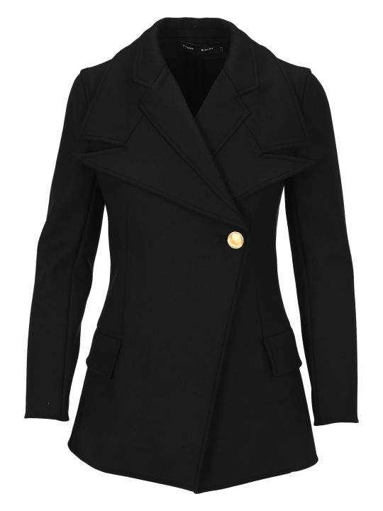 Proenza Schouler Double Lapel Fitted Blazer