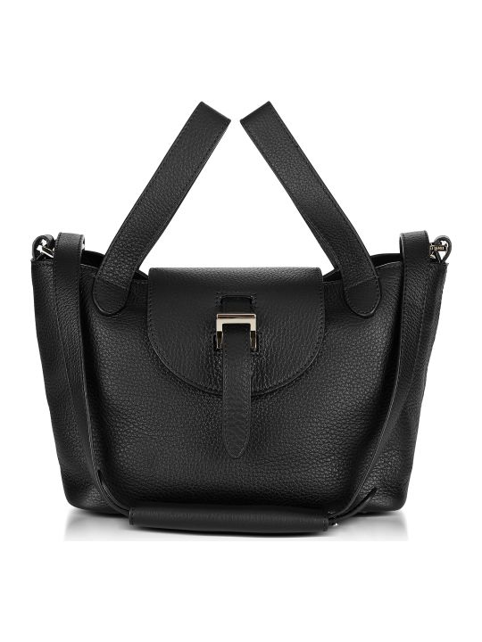Meli Melo Black Thela Mini Cross Body Bag