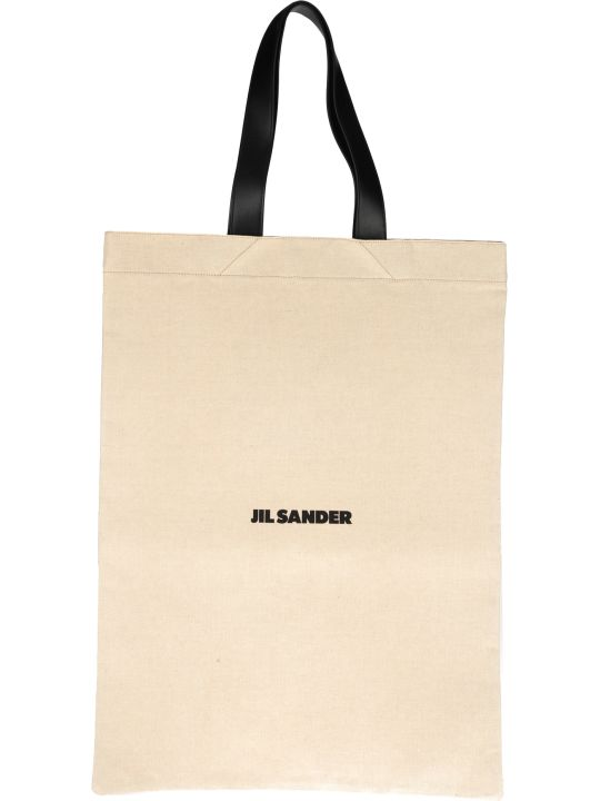 Jil Sander Large Flat Shopper Bag