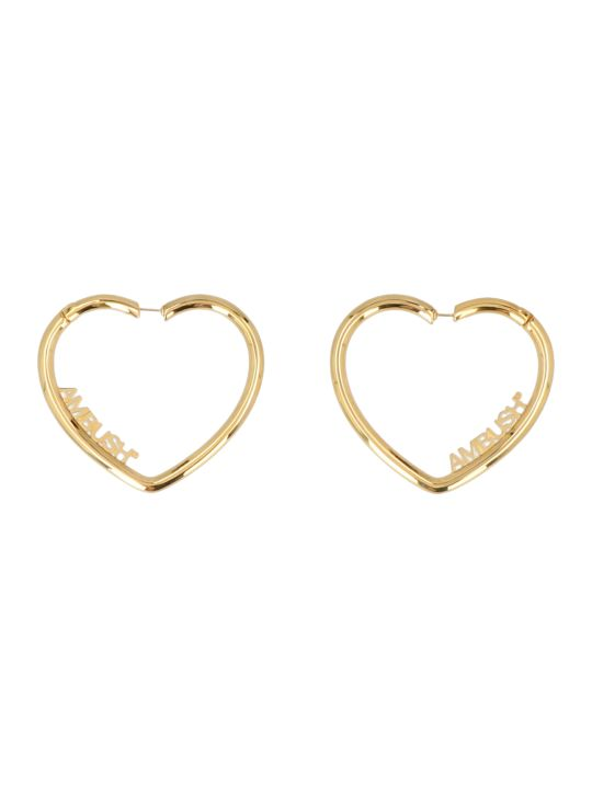 AMBUSH 'heart Hoop' Earrings