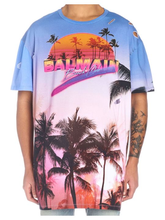 Balmain 'beach Club' T-shirt