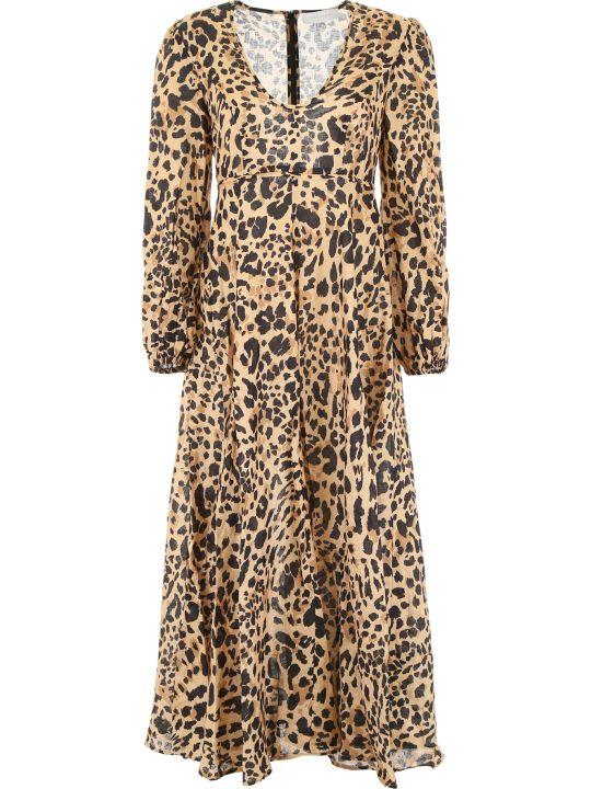 Zimmermann Leopard-printed Dress
