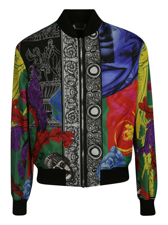 Versace Printed Bomber