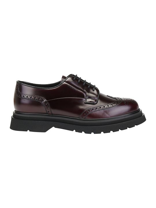 Prada Platform Derby Lace Up