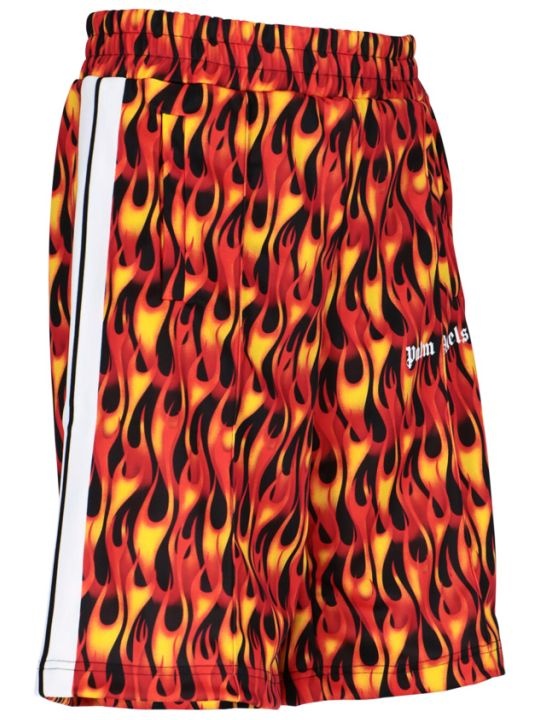 Palm Angels Flame Shorts