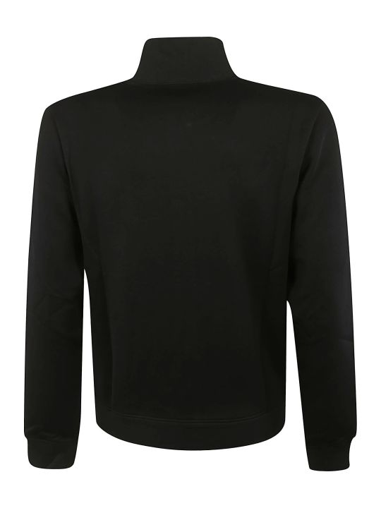 Alexander McQueen Flower Print Zipped Jacket