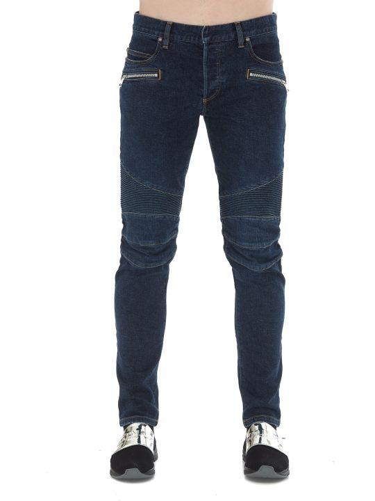 Balmain Logo Signature Jeans