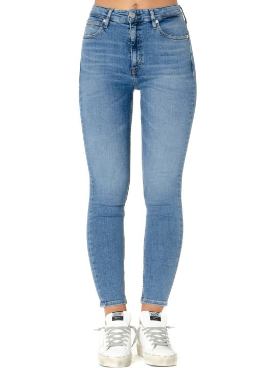 Calvin Klein High Waist Denim Stretch Jeans