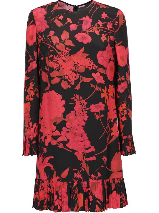 Valentino Crepe De Chine Dress