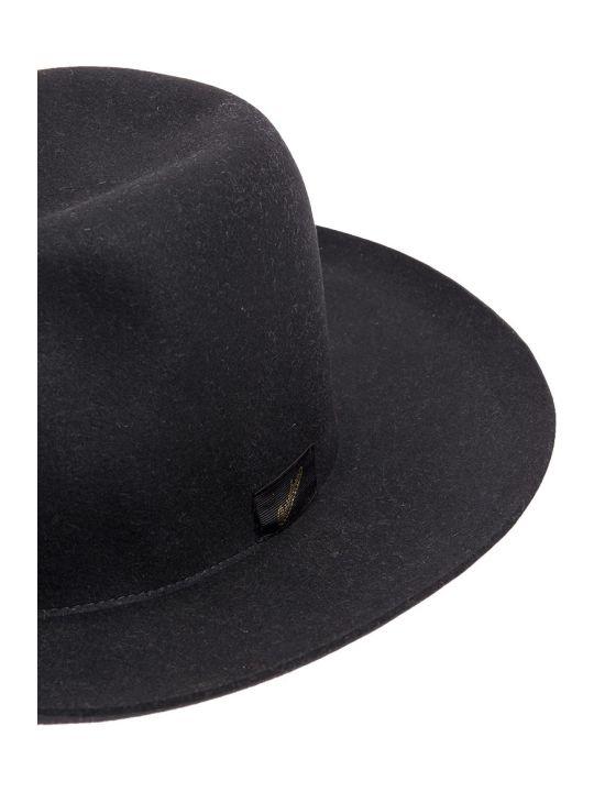 Borsalino Brimmed Felt Large Hat