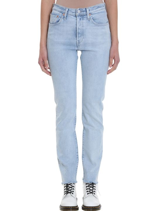 Levi's 501 Light Blue Jeans
