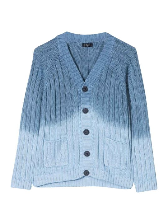Il Gufo Blue Kids Cardigan