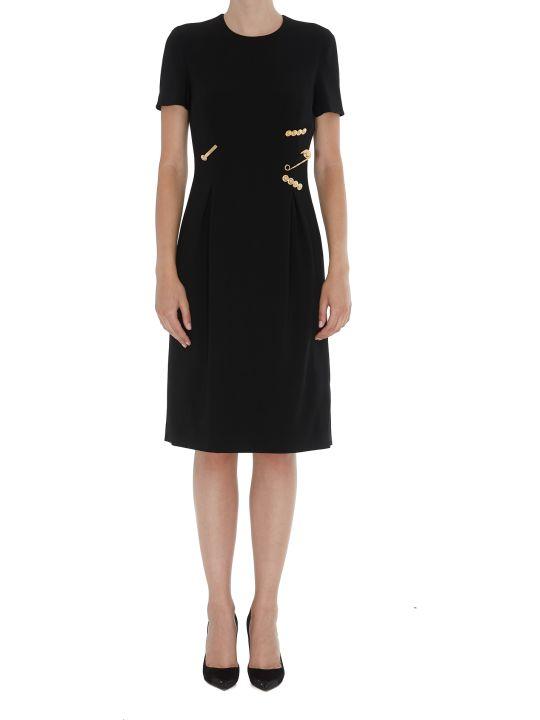 Versace Clip Detail Dress