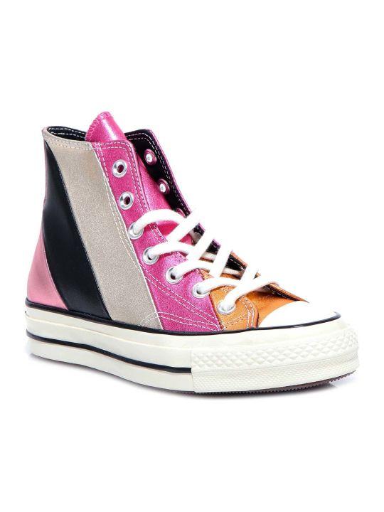 Converse Chuck 70 Metallic Rainbow High Top Sneakers