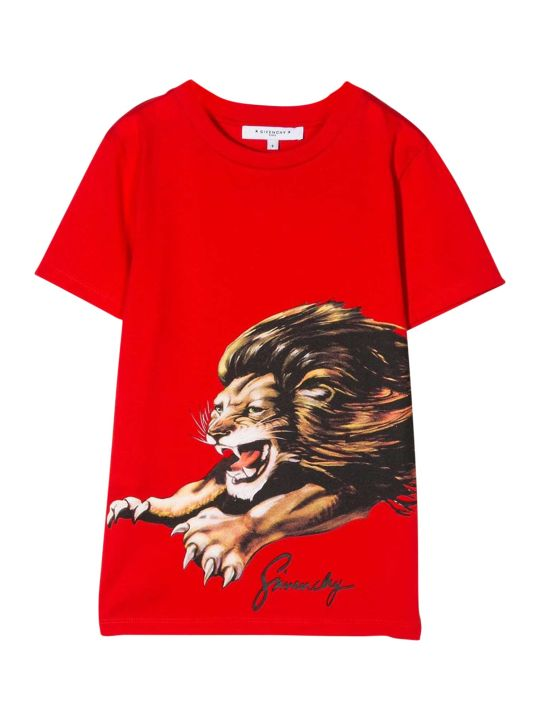 Givenchy Kids Printed T-shirt