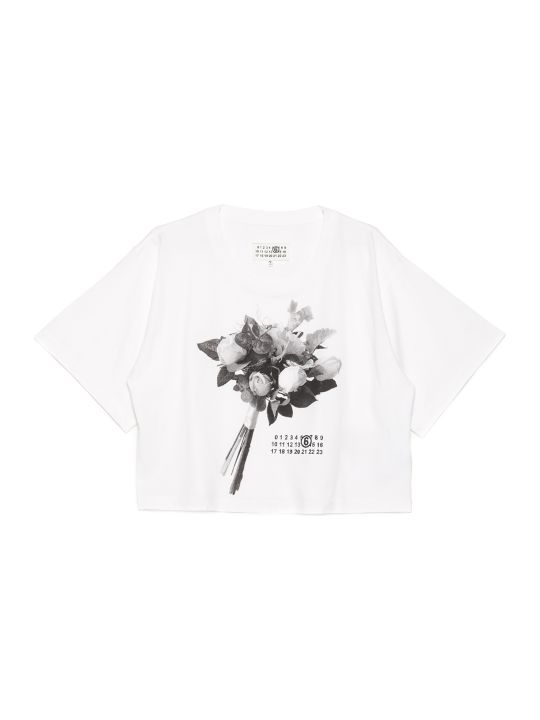 MM6 Maison Margiela 'bouquet' T-shirt