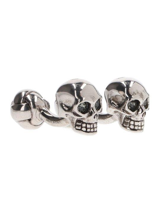 Alexander McQueen 'twin Skulls' Cuffs