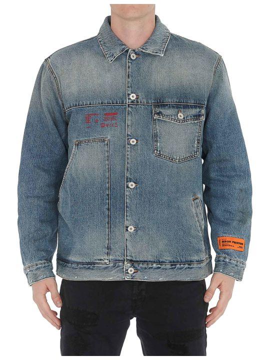 HERON PRESTON Workwear Denim Jacket
