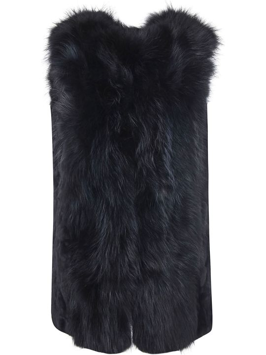 Bully Furry All-over Long Gilet