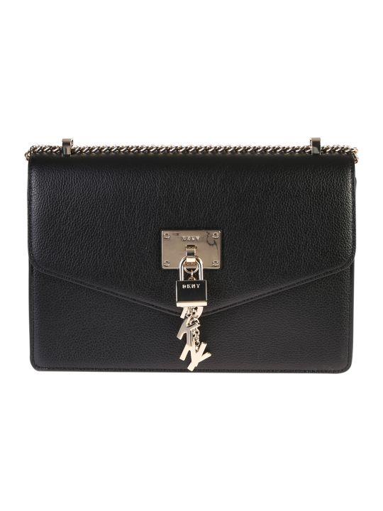 DKNY Elissa L Leather Shoulder Bag