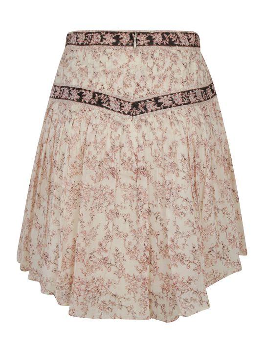 Isabel Marant Short Length Floral Skirt