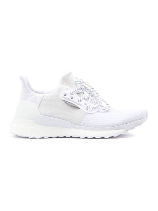 Adidas by Pharrell Williams Solarhu White Sneakers