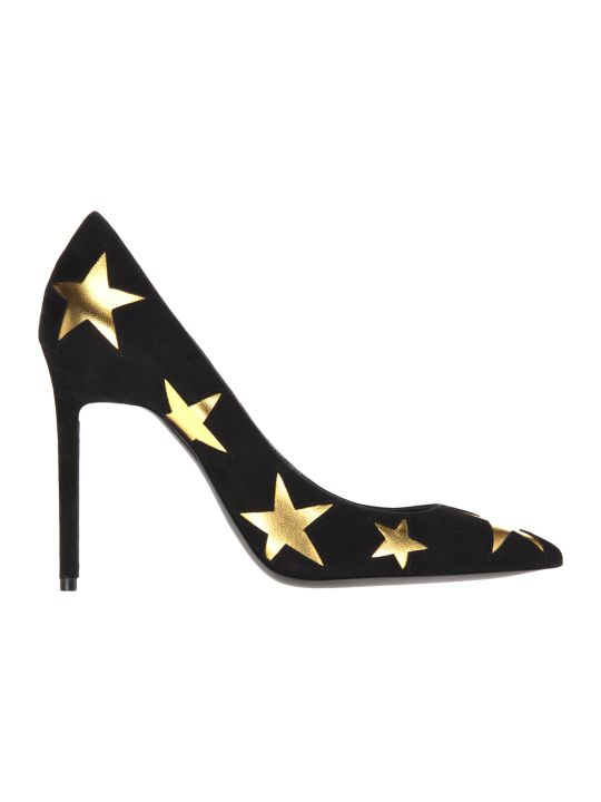 Saint Laurent Anja Stars Pumps