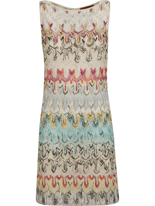Missoni Crochet Patterned Dress