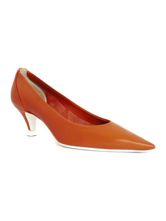 Roberto Festa Orange Albino Pumps